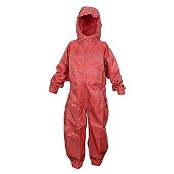 6e54a28e5691 DRY KIDS Childrens Waterproof Rainsuit