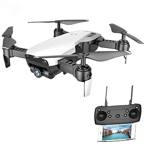 Linbing123 Faltbare Drohne Fernbedienung Quadcopter Drohne mit HD Kamera 2,4 GHz 6-Gyro mit Altitude Hold Funktion, Headless Mode und One Key Return Home,001 -