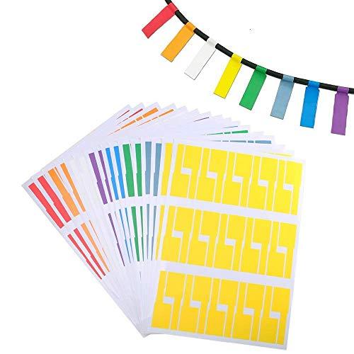 FOGAWA 480pcs Etiqueta etiqueta adhesiva multiusos