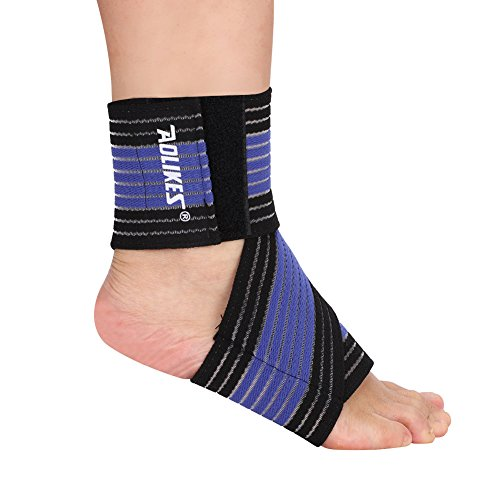 1 Stck Sport Fußbandage Sprunggelenkbandage Knöchelbandage Joggen Laufen Schutz