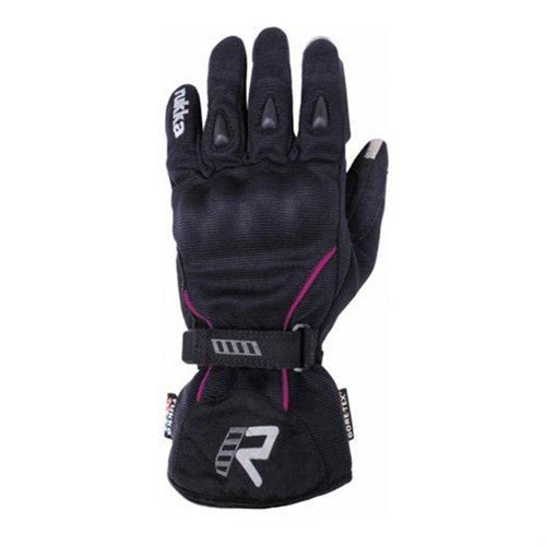 Rukka Damen Suki Handschuhe–Schwarz/Pink