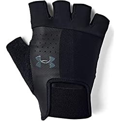Under Armour Men's Training Glove Guantes, Hombre, Negro (Black/Pitch Gray 001), M