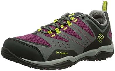 Columbia Peakfreak Xcrsn Xcel Outdry, Chaussures de sports extérieurs femme - Gris (030 Charcoal Fresh Kiwi), 37 EU (4 UK) (6 US)