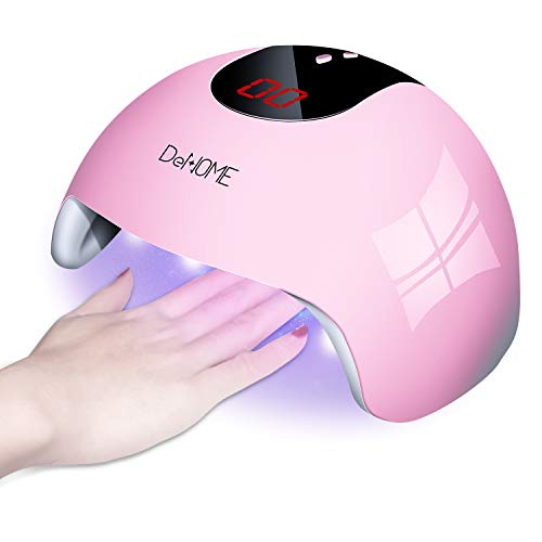 DeNOME Lámpara LED UV Uñas Profesional Maquillaje
