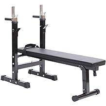 Banco de Pesas Plegable Bancos Musculacion Entrenamiento Maquina Gimnasio Gym
