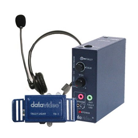 Datavideo ITC-100SL Wired Add-On Beltpack for ITC-100 Intercom System