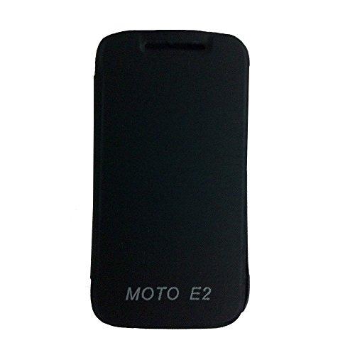 Generic Tidel Flip Cover For Motorola Moto E 2Nd Gen