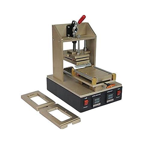 OCA GOWE plastificado electroestimulación + LCD separador removedor de pegamento marco plastificado electroestimulación + removedor de burbuja máquina + tallerheels película plastificado