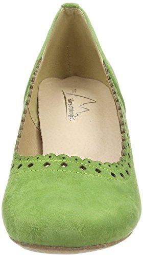 Andrea Conti 3003413, Fermé Toe Heel Chaussures Femme Grün (grasgrün)