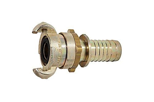 """Sicherheitskupplung / Klauenkupplung mit Schlauchanschluss LW 19 mm (3/4"""") und Sicherungsbund RI-KT19SBS"""