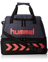 Hummel Authentic soccer bag - Ombre blue/nasturtium