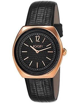 Joop! Damen-Armbanduhr Reptile Analog Quarz Leder JP101122F08