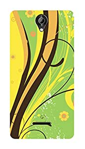 SWAG my CASE PRINTED BACK COVER FOR MICROMAX BOLT Q332 Multicolor