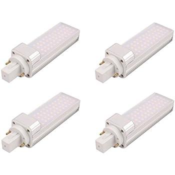 Fluocompacte Du Lot G24 Led Lumière Masonanic Jour Blanc De 4 Lampe 0nkX8wOP