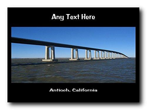 Antioch tovaglietta, California personalizzabile