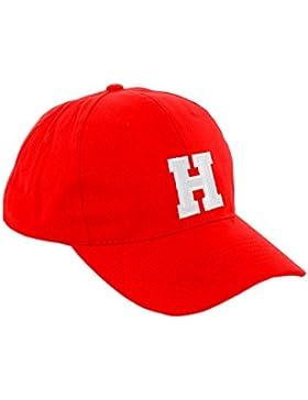 New Gorra de béisbol Cap rojo para niño niña niños sombrero Gorro Unisex A-Z alfabeto