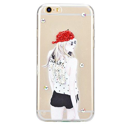 iPhone 7 Silikon Hülle,iPhone 7 Hülle,Sunroyal TPU Case Schutzhülle Silikon Crystal Kirstall Clear Case Durchsichtig,Funny Pinkeln Pee Junge Malerei Muster Transparent Weichem Silikon Schutzhülle Hand Pattern 10