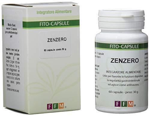 Fitofarmaceutica Zenzero - 60 Capsule Gelatina Vegetale