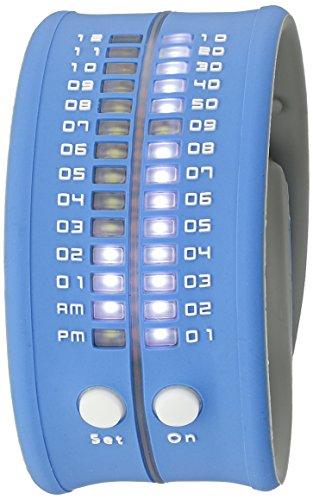 REFLEX Men's PD0019 Blue Reflex LED Digital Watch