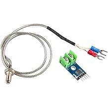 HALJIA MAX6675 Module + Type K Thermocouple Temperature Sensor Temperature Testing Range for Arduino Raspberry Pi