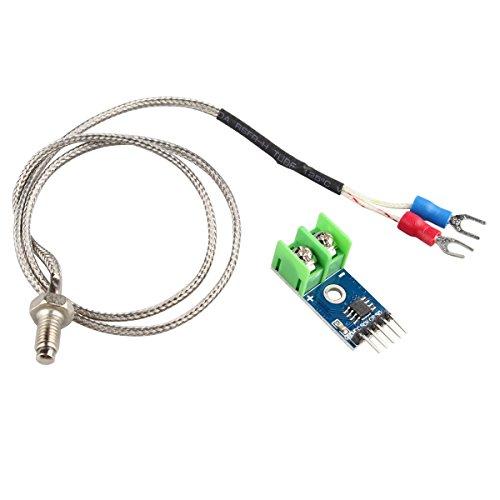 HALJIA max6675 Modul + Typ K Thermoelement Temperaturfühler Temperatur Testen Bereich für arduino Raspberry Pi