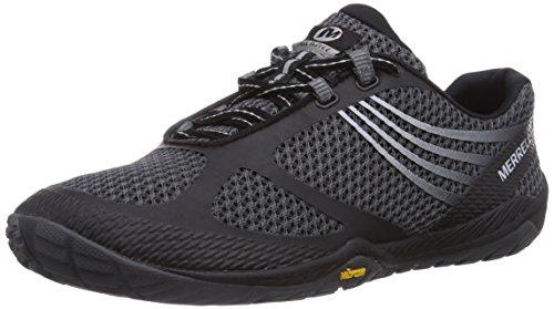 Merrell Pace Glove 3, Damen Outdoor Fitnessschuhe, Schwarz (Black), 42.5 EU (Sneakers Schuhe Damen Merrell)