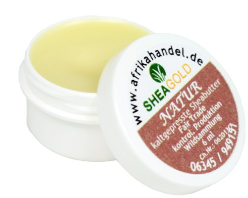 SheaGold Sheabutter kalt gepresst unraffiniert 5gr.
