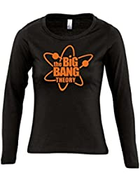 THE BIG BANG THEORY FUN KULT SHIRT - Damen Langarm Longsleeve T-Shirt S-XL