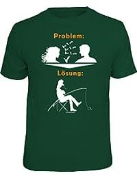 Original RAHMENLOS T-Shirt für Angler und Fischer: Problem - Lösung