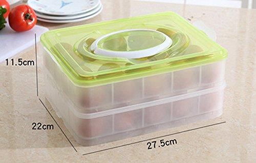 Kühlschrank Aufbewahrungsbox : Ei halter box mmrm durable kunststoff 15 zellen eier
