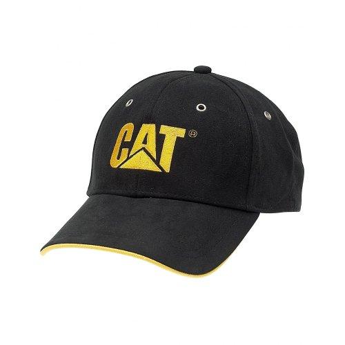 caterpillar-c434-klassische-baseball-kappe-mutze-one-size-schwarz