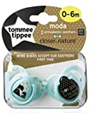 Tommee Tippee Closer To Nature Moda: 2 x Schnuller 0-6m (Hunde)