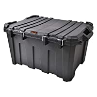 Tactix 135 Liter Heavy Duty Storage Box - Black