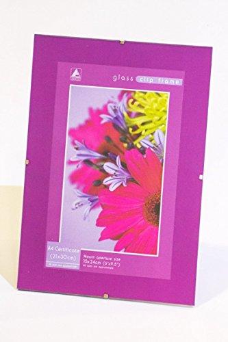 Anker Glass Clip Frame A4 Certificate - LH/4 (Plug-in-cooler)