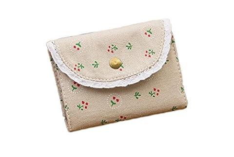 westeng Aufbewahrungstasche aus Leinwand, zu Petite Fleur Tasche von Währung Mädchen Frauen (Leinwand Porte)