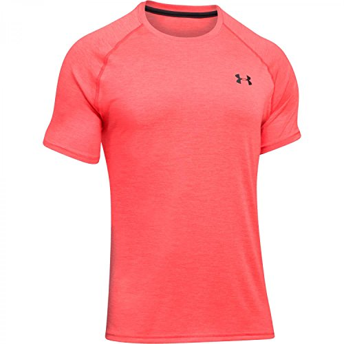 Under Armour, Maglietta Uomo UA Tech Tee Rosso MARATHON RED/ANTHRACITE MARATHON RED/ANTHRACITE