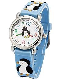 2a167d134a4 ARROYO Penguin Sports Watch Kids Time Teacher Young Boys Girls Children  Boys Girls Analog Wrist Watch