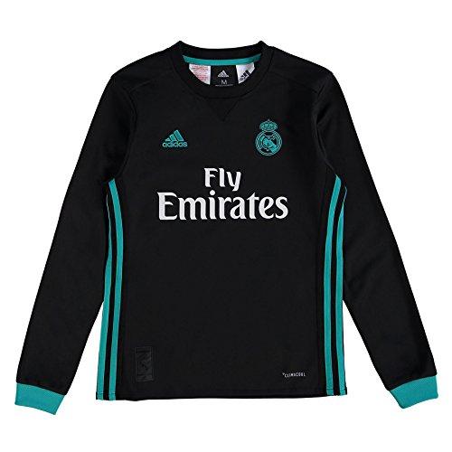 adidas 2017-2018 Real Madrid Away Long Sleeve Shirt (Kids) Preisvergleich