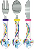 My Little Pony Heart Shaped Cutlery Set, Multi, Set of 3