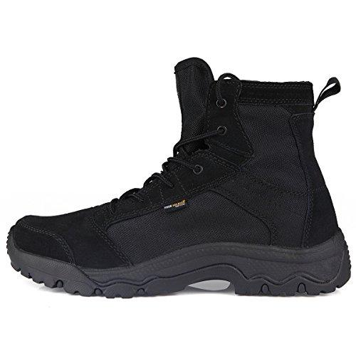 FREE SOLDIER al Aire Libre Hombres tormenta Ultraligero Tactical Botas Transpirable Zapatos...