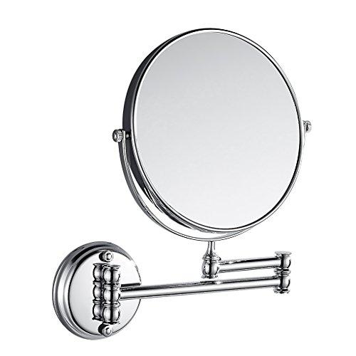 MagiDeal Kosmetik-Wandspiegel Teleskop- Schminkspiegel Vergrößerungsspiegel Rasierspiegel für...