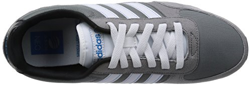 Adidas F97875, Chaussures de Running Homme Multicolore (Grey/Ftwwht/Solblu)