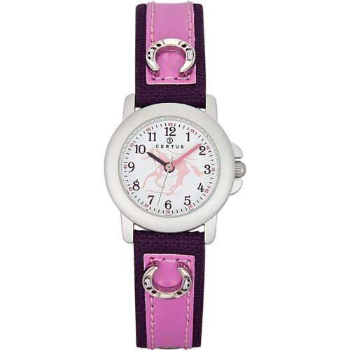 Certus Reloj Analógico de Cuarzo Unisex con Correa de Plástico – 647479