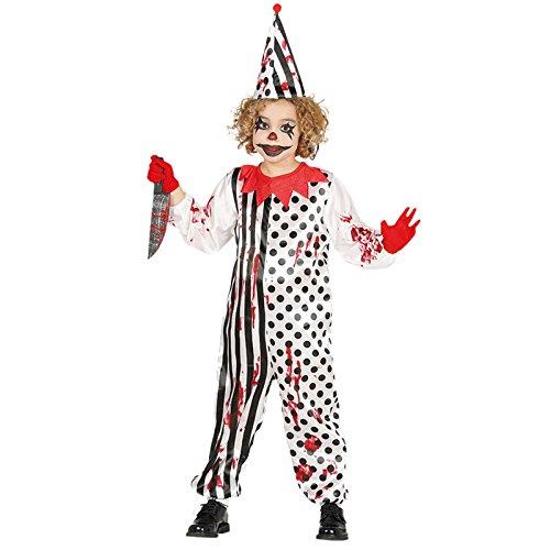 Imagen de disfraz de payaso asesino para niño