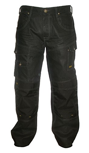 Preisvergleich Produktbild DeWalt Men'Pro Work s Jeans, Denim/Schwarz, DWC28-015