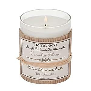 Durance–Bougie verre parfumée Camelia