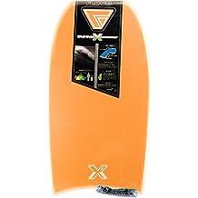 FLOOD Dynamx Eps Str Bb W/Stringer Bodyboard, Unisex adulto, Naranja / Gris, 41