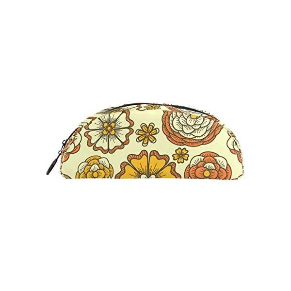 FAJRO – Portatodo étnico con estampado floral y cremallera