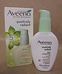 AVEENO Active Naturals Positively Radiant Daily Moisturizer SPF15 4 oz Exp 5/17+