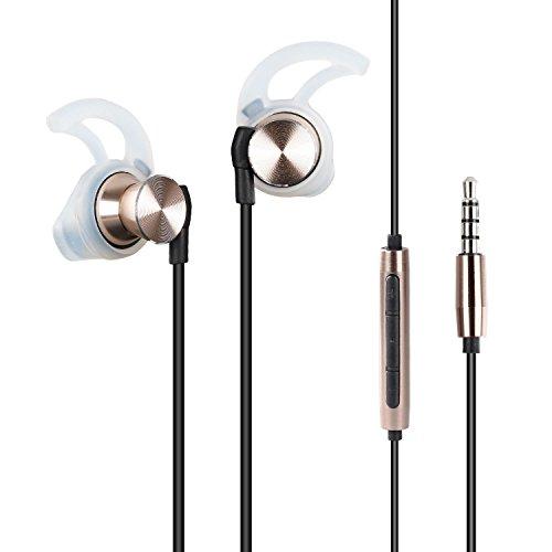 Parasom-R3-Auriculares-in-ear-para-Especialmente-para-Escuchar-Msica-los-Cascos-Cableados-con-Micrfono-y-un-Botn-para-recepcionar-Llamada-Manos-Libres-Conector-de-Audio-de-35-mm-Compatible-con-Android